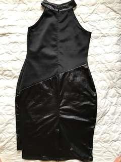 Black Formal Halter Bodycon Dress
