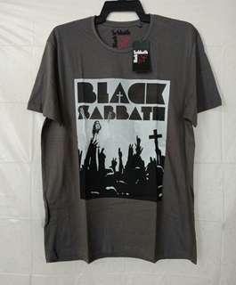 Original Black Sabbath Crown Mineral Wash Dark Gray Tshirt