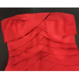 (Repriced) MORGAN & COMPANY red cocktail dress