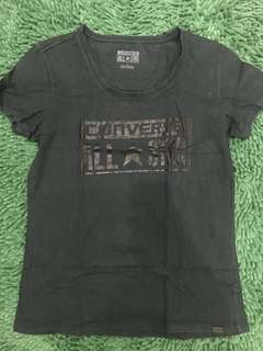 Black t shirt by converse