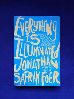 Pre-loved Book: Everything is Illuminated by Jonathan Safran Foer