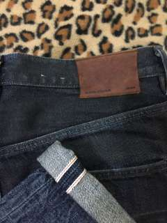 All saint UK denim selvedge
