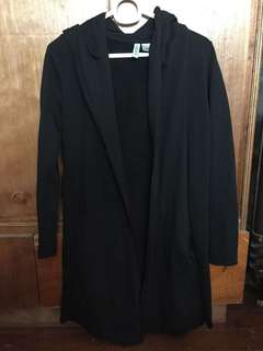 H&M Black Coat Used only once