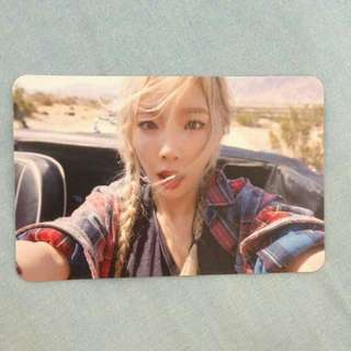 [WTT/WTS] Taeyeon SNSD Girls Generation Why Photocard PC