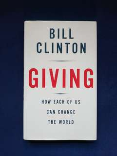 Pre-loved Book: Giving by Bill Clinton