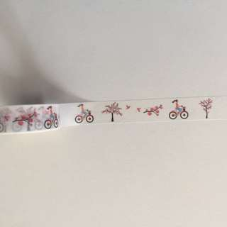 Theme Cycling GJ85 Washi Tape 15mm x 10m