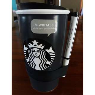 Brand New Starbucks Ceramic Writable Mug