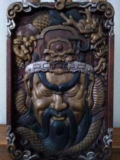 wooden Guan Gong(wood craving)