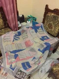 Voal printed hijab