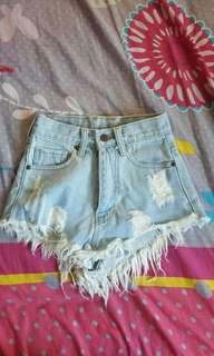 BN HW Denim Shorts