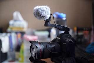 Tascam TM-2X microphone good for video/vlog