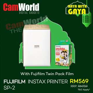 FUJIFILM INSTX PRINTER SP-2