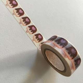 Chocolate Ice Cream Stick GJ86 Washi Tape 15mm x 10m