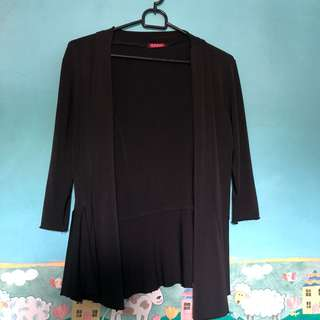 Cardigan Hitam Ada 2 Model