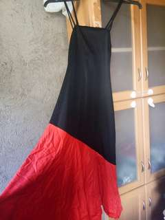 Dress Black and Red | Dancing outfit ata to | Ballroom? | Small to Medium |