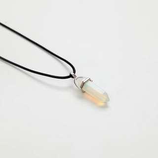 Kalung Natural Crystal Putih