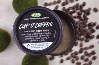 Cup o' Coffee mask