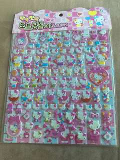 Hello Kitty Stickers (2 pages)