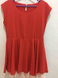Whitered dress