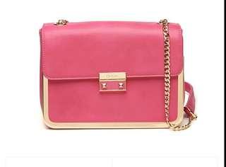 Ready Stock Authentic Daphne Handbag (Pink)