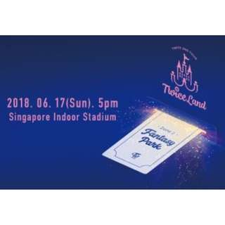 Twiceland Concert Standing B tickets