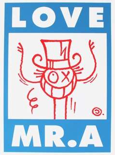 Love Mr. A (blue and red) André Saraiva *Limited Print