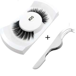 1pcs #20 false eyelashes