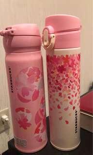 Limited Edition Starbucks Sakura Tumblers from Japan