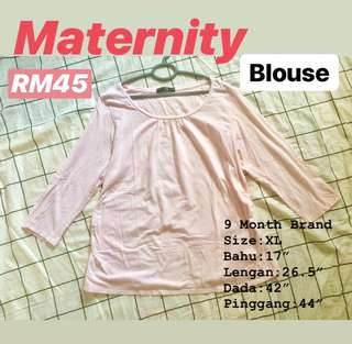 Blouse Maternity (9 months brand)