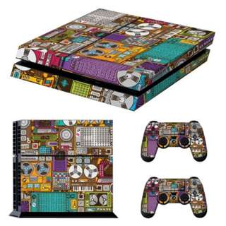 PS4 console skin