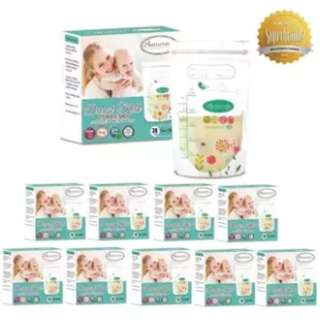 Autumnz Double ZipLock Breastmilk Storage Bag 7oz (10 x Pack of 28's)