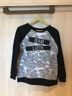 """Bad Luck"" Sweater Top Penshoppe"