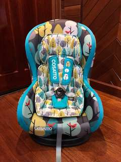 Cosatto Moova Group 1 Firebird baby car seat