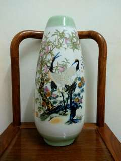 Chinese Winged stilt vase
