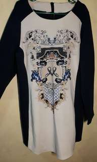 Long-sleeved dress (corporate)