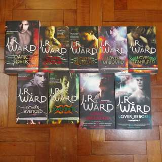 JR Ward Dagger Brotherhood Series
