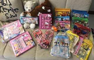 Kids stationary set