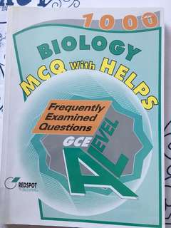 Frequently examined questions for AS biology
