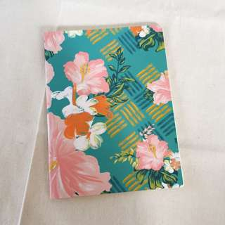 Brand new floral notebook