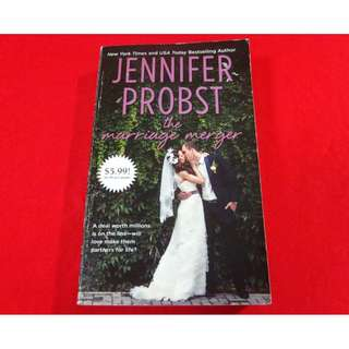 The Marriage Merger by Jennifer Probst