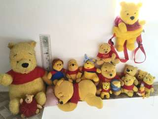 TAKE ALL POOH collection (15 pcs)