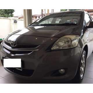 2009 Toyota Vios 1.5 E (A) Tip Top only One Owner