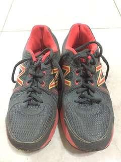 Sepatu sport women New Balance Grey Pink Original Size 37