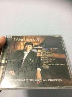 Cd 62 Lang Lang Autographed CD album