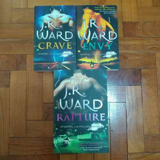 Jr Ward Fallen Angels Series