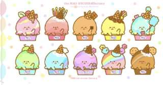 INSTOCK - ice cream cup planner stickers