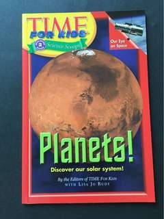 Children book TIME for kids: Planets! Discover our solar system