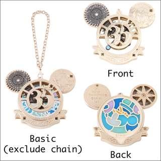 Preorder: Tokyo Disneyland Time of Celebration Charm (keychain, bag decor)
