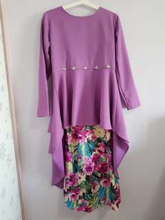 BN! Fishtail Tunic with Floral Skirt