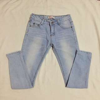 Washed jeans size 26